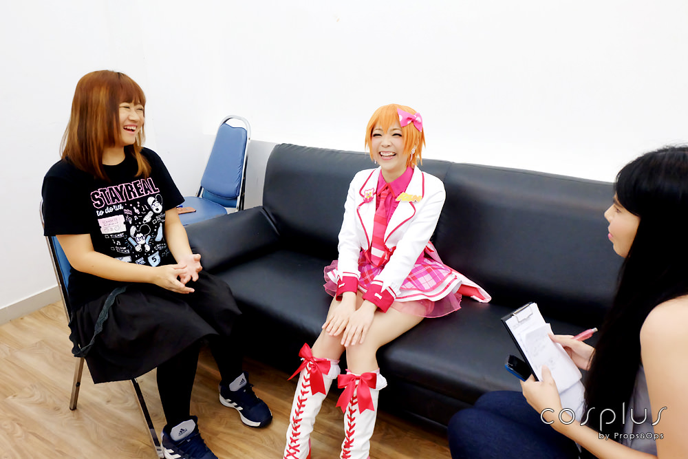 Interview | Siutao สาวคอสเพลย์เขี้ยวเสน่ห์จากฮ่องกงในงาน COSCOM : Sakura Hanami