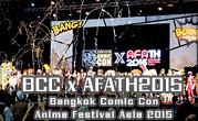 Bangkok Comic Con x Anime Festival Asia Thailand 2015