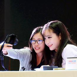 Interview | Tomia สาวคอสเพลย์เกาหลีใต้สุดสวยดึงดูดใจในงาน COSCOM : Sakura Hanami