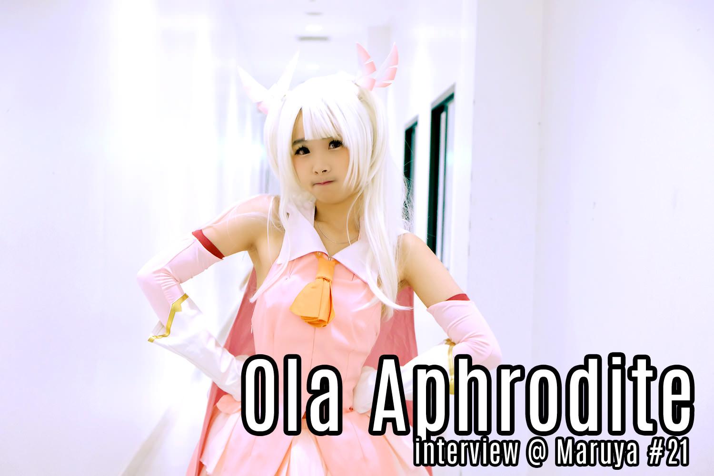 Interview | คุยกับ Ola Aphrodite ไอดอลสุดโลลิแห่งวง Shojo Complex ในงาน Maruya #21