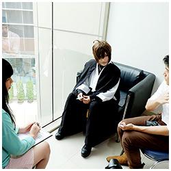 Interview | SANSIN คอสเพลย์เยอร์สาวหล่อสุดเฉียบจากเกาหลีใต้ในงาน Maruya #24