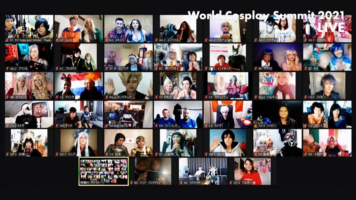 Reizier และ Ryou ตัวแทนประเทศไทยประกวดคอสเพลย์ World Cosplay Summit 2021 Video Division