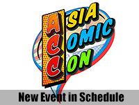 New Event | เพิ่มงาน Asia Comic Con
