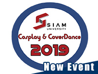 New Event | เพิ่มงาน Siam University Cosplay&Cover Dance 2019 : New Year Party