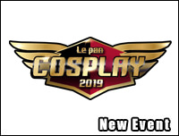 New Event | เพิ่มงาน Le pan COSPLAY 2019