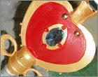 เพิ่มอุปกรณ์เสริม Spiral Heart Moon Rod