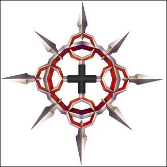 Props - Eternal Frames Chakrams - Kingdom Hearts II