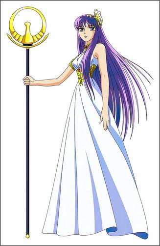 Props - Kido Saori Athena's Golden Staff - Saint Seiya