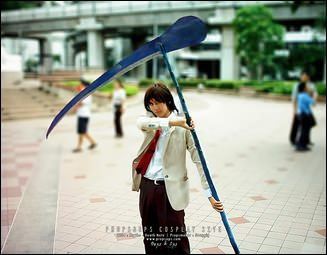 Props - Scythe - Death Note