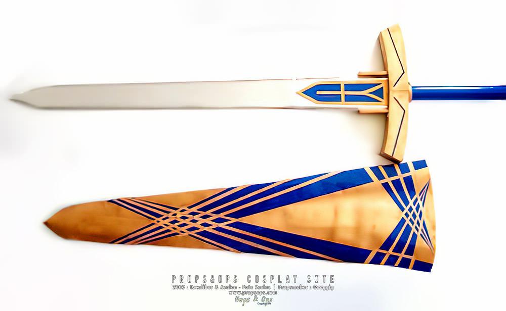 Props - Excalibur & Avalon - Fate Series