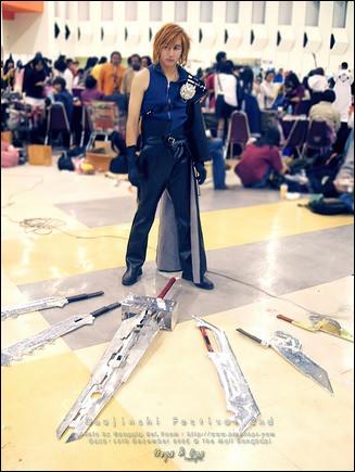 Props - Fusion Sword - Final Fantasy VII Advent Children