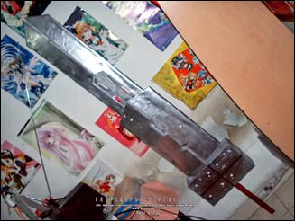 Props - Main Blade of Fusion Sword - Final Fantasy VII Advent Children