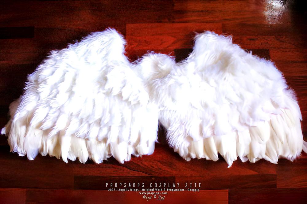 Props - Angel Wings - Original Work