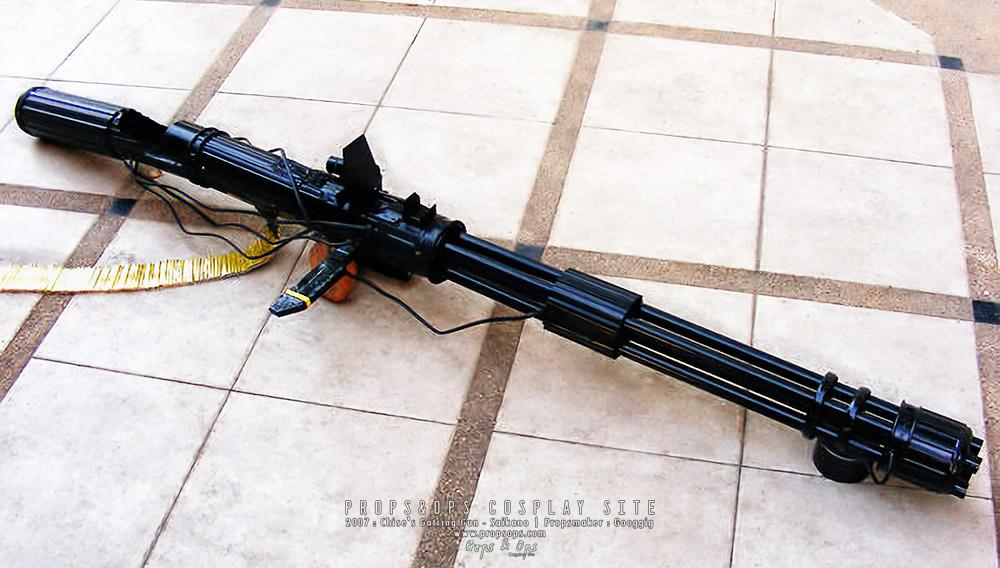 Props - Chise's Gatling Gun - Saikano