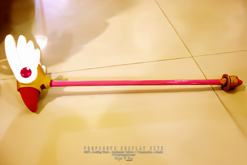 Props - Sealing Wand - Cardcaptor Sakura