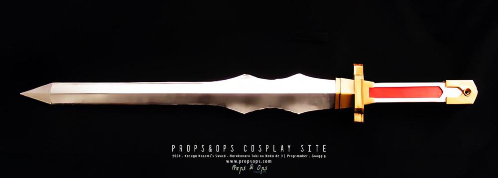 Props - Kasuga Nozomi's Sword - Harukanaru Toki no Naka de 3