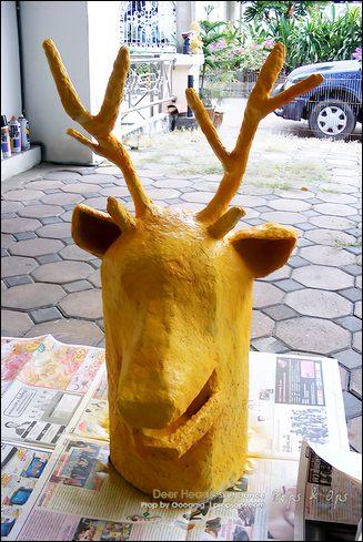 Props - Deer Head - Sket Dance