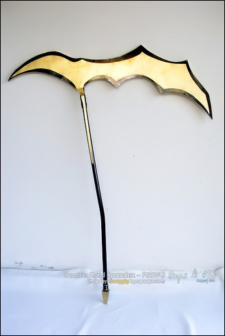 Props - Double Gold Spandex - Panty & Stocking with Garterbelt