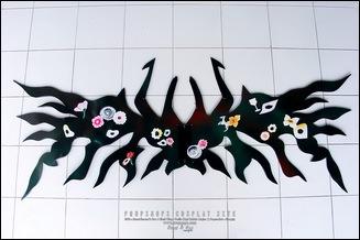 Props - Akemi Homura's Bow & Black Wings - Puella Magi Madoka Magica